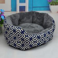 Buy cheap Husky Dog Bed With Plush Linning Canvas Dog Beds For Sale from wholesalers