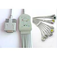 Buy cheap Burdick EK-10 10lead EKG Cables,IEC/AHA,banana/Clip from Factory product