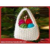 Buy cheap Knitted Yarn Christmas Tree Ornaments from wholesalers