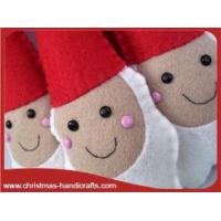 Buy cheap Felt Christmas Santa Claus from wholesalers