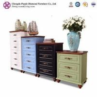 Buy cheap Mahogany furniture chest of drawers for kids modern sideboard for sale from wholesalers