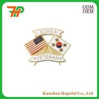 Buy cheap custom made different country flag lapel pins from wholesalers