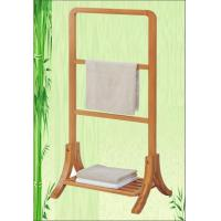 bamboo towel rack towel holder