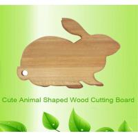 Buy cheap animal rabbit shape wooden chopping board cutting board from wholesalers