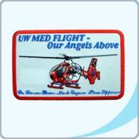 Buy cheap Embroidered Badge 00850542 Embroidered Emblem With Helicopter - UW MED FLIGHT (00850542) from wholesalers