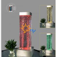 Buy cheap Tabletop LED bubble square column from wholesalers