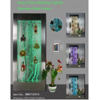 Buy cheap LED bubble feature wine cabinet SBWC7230D from wholesalers