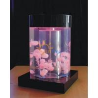 Buy cheap Table top colorful Jellyfish tank. fish tank ATBCJ50-DIA30 from wholesalers