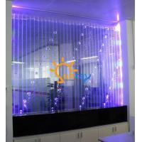 Buy cheap LED programmed bubble divider wall from wholesalers