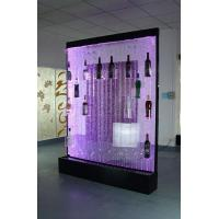 Buy cheap LED bubble feature wine cabinet from wholesalers