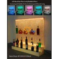 Buy cheap LED bubble feature displaying cabinet from wholesalers