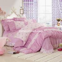 Buy cheap Beauty Pink Girls Bedding Sets from wholesalers