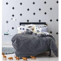 Buy cheap Black And White Raider Black Bedding Teen Bedding Kids Bedding Modern Bedding Gift Idea from wholesalers