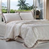 China Boccaccino Damask Duvet Cover Bedding Sets on sale
