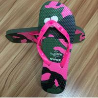 Buy cheap High quality natural rubber Flip flop with rubber strap product