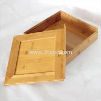 Buy cheap Bamboo gift box from wholesalers
