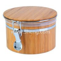 Buy cheap Eco-Friendly Bamboo Jar For Storing Dry Goods product