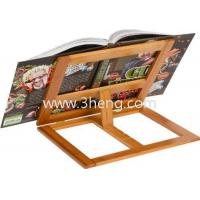 Buy cheap All Natural Bamboo Cookbook Holder With 4 Adjustment Settings from wholesalers