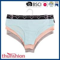 Buy cheap Ladies Plus Size Panties with Printed Elastic Waistband from wholesalers