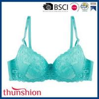 Buy cheap Ladies Fancy Allover Lace Plus Size Bra from wholesalers