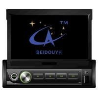 Buy cheap 7inch Universal Single Din Retractable Touch Screen, BEIDOUYH CVD1870 from wholesalers
