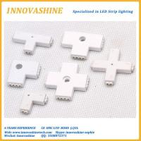 Buy cheap LED Strip corner connector all types 2 pin and 4 pin from wholesalers
