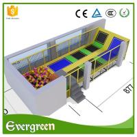 Buy cheap Customized Indoor Trampoline Park for Sale from wholesalers