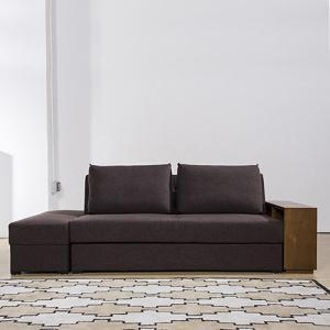 Buy cheap DayBed Convertible Corner Couch Fabric Storage Sofa Bed from wholesalers