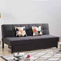 Buy cheap DayBed Folding Metal Legs Fabric Storage Sofa Bed from wholesalers