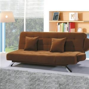 Buy cheap DayBed Sleeper Folding Fabric Futon Loveseat Sofa Bed from wholesalers