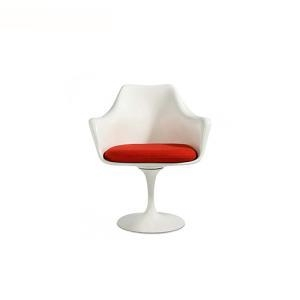 Buy cheap Dining Chairs Eero Saarinen Fiberglass White Tulip Armrest Chair from wholesalers