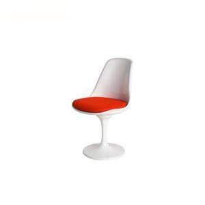 Buy cheap Dining Chairs Eero Saarinen Red Cushion Tulip Swivel Chair from wholesalers