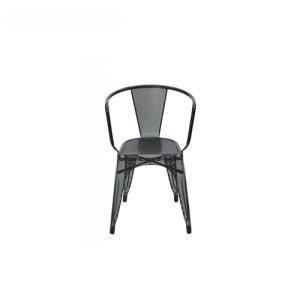 Buy cheap Dining Chairs Outdoor Industrial Painted Steel Tarnish Tolix Armchair from wholesalers