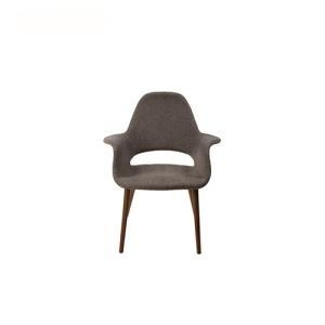 Buy cheap Dining Chairs Eames Saarinen Armrest Organic Fabric Lounge Chair from wholesalers