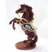 Buy cheap polyresin horse statues from wholesalers