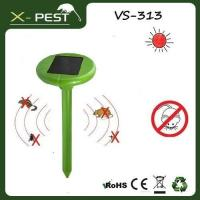 Buy cheap Solar Powered Ultrasonic Mole Repeller Repel Mole, Voles, Mi from wholesalers
