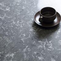 Dusk Gray Quartz Worktops, Quartz Solid Surface, Gray Quartz Stone Kitchen Countertops