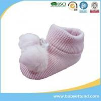 Buy cheap Baby shoes,Lovely pom-pom baby boots for girls from wholesalers