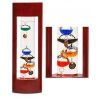 Buy cheap BEST SELLERS 2 12  Inch Galileo Thermometer in Cherrywood Stand from wholesalers