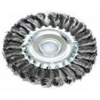 Buy cheap Wire brush Arbor Hole Twist Knot Wire wheel Brush from wholesalers
