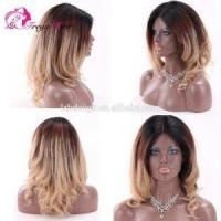 Buy cheap Indian Full Lace Wig Virgin Honey Blonde Human Hair Full Lace Wig from wholesalers