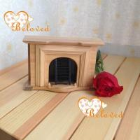 Buy cheap 1/12 dollhouse miniature furniture wooden fireplace from wholesalers
