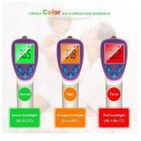 Buy cheap Colorful Digital Temporal Scan Thermometer , Infrared Clinical Thermometer Multi - Functional from wholesalers