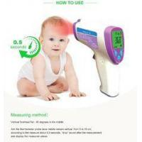 Buy cheap No Touch Infrared Baby Thermometer , Fever Test Handheld Infrared Thermometer from wholesalers