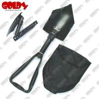 Buy cheap GD-2562 Tri folding shovel from wholesalers