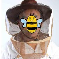 Buy cheap Brown color bee protective hat of cowboy bee keeping hat with veil from wholesalers