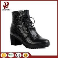 Buy cheap 5cm genuine leather ankle winter anti-skidding boots from wholesalers