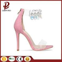 Buy cheap new fashion pink sweet sequins women sandals from wholesalers