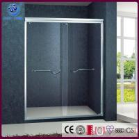 Buy cheap Frameless Bypass Sliding Shower Door, Custome 56-60 in. Width, Chrome Finish (KD6011) from wholesalers