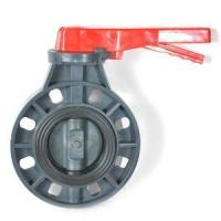 Buy cheap UPVC wafer butterfly valve from wholesalers